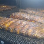 Racks Coming Off The Smoker