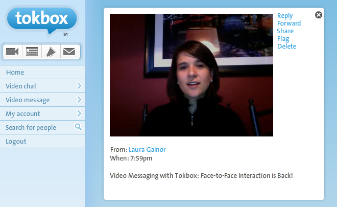 Video Messaging with TokBox: Face-to-Face Interaction is Back