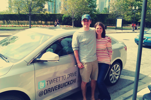 """Tweet to Drive"" Tour of Chicago with @DriveBuickChi [VIDEO]"