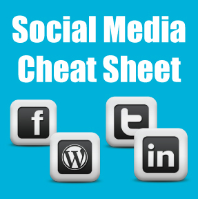 Social Media Cheat Sheet for the Career Professional