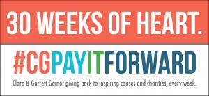 30 weeks of heart CGPayItForward