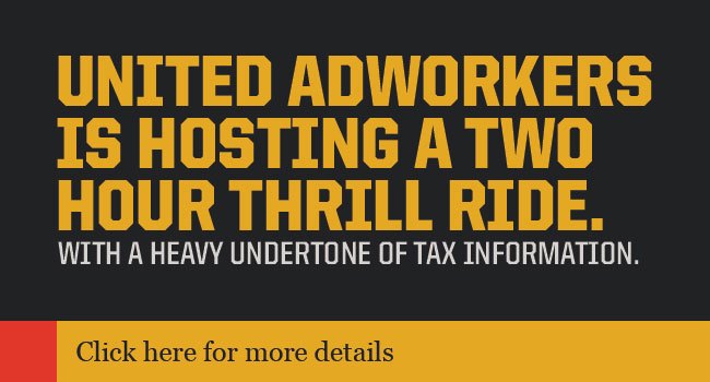 Join Adworkers for a Two Hour Thrill Ride