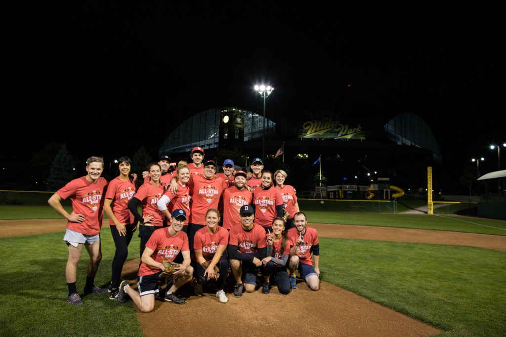 13 Team North All-Stars - Made up of teams from BVK, Hoffman York, Laughlin Constable, United Adworkers, and Strangers in the Outfield