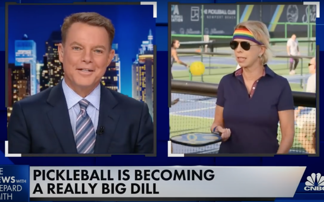 CNBC's 'The News with Shepard Smith' Reports on the Surge of Pickleball