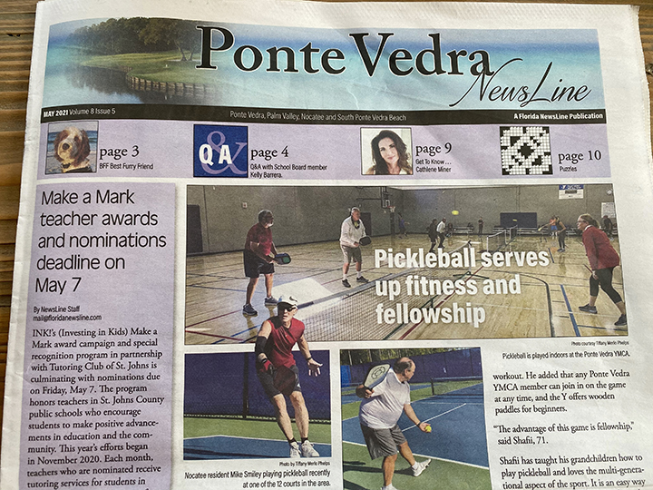 Ponte Vedra Newsline: Pickleball Serves up Fitness and Fellowship