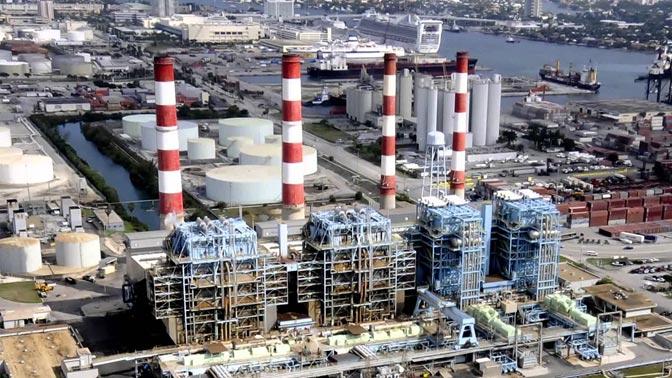 Florida Power Light Gas Turbines