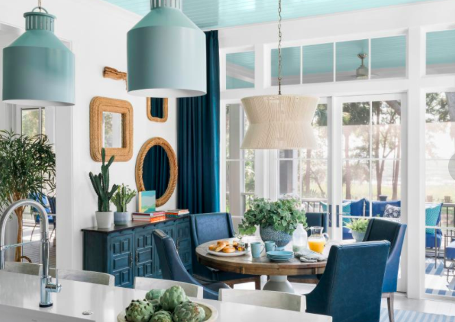 Feeling Blue?  You should be…it's the trend!