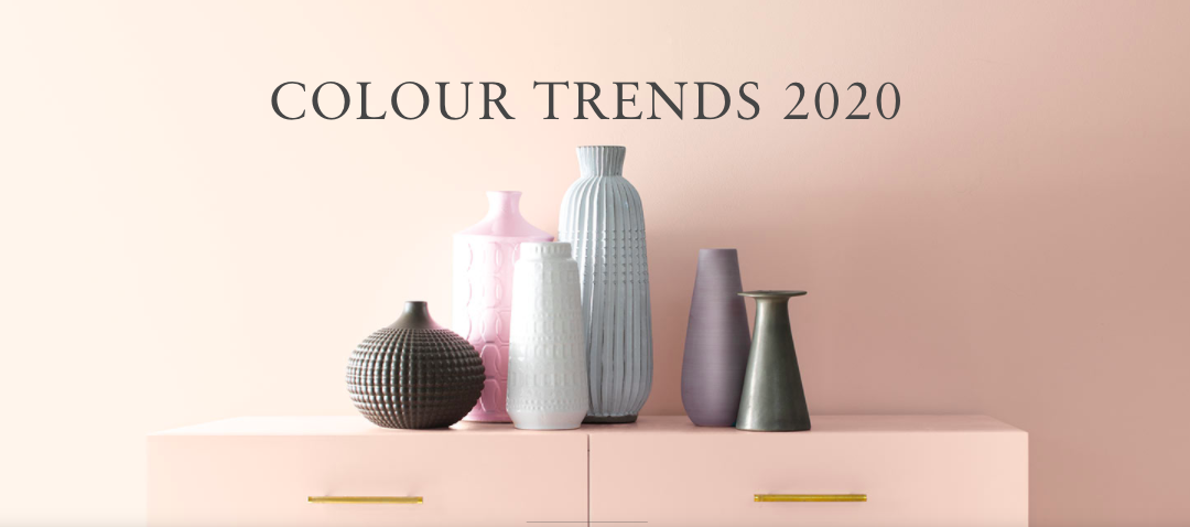 At least the colours of 2020 are calming hues…