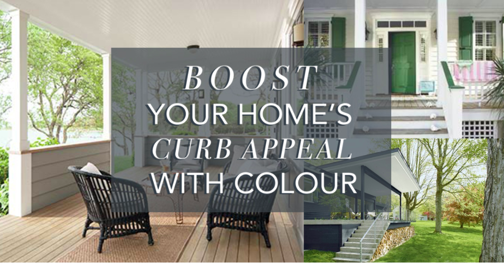 Boost your homes curb appeal…with colour!