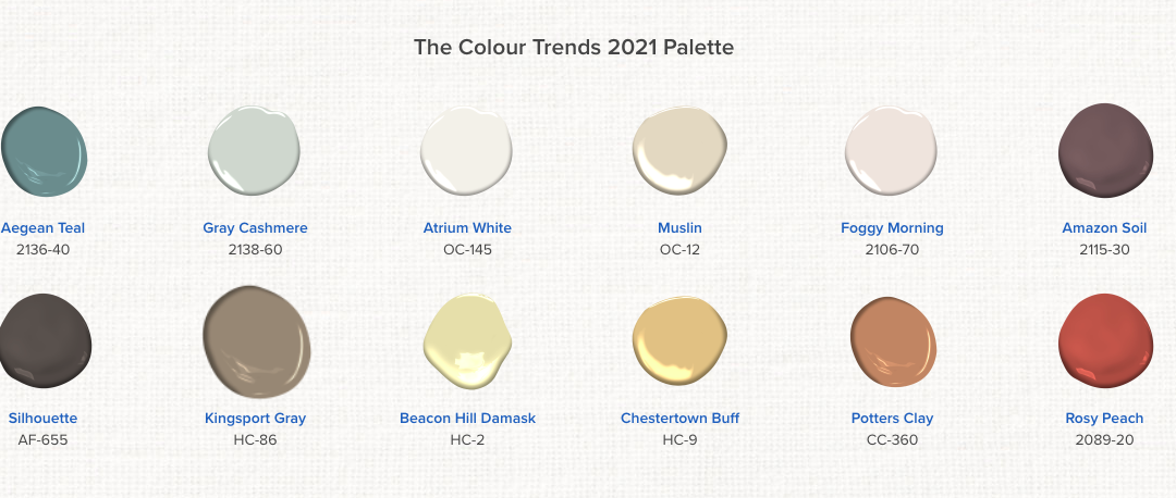 Colour trends for 2021, some surprises here!  Check it out!
