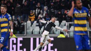 Juventus Kalahkan Parma, Cristiano Ronaldo Meraih Rekor Baru