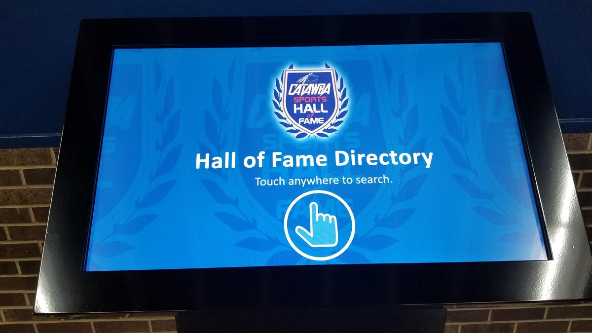 Catawba College Sports Hall of Fame Kiosk