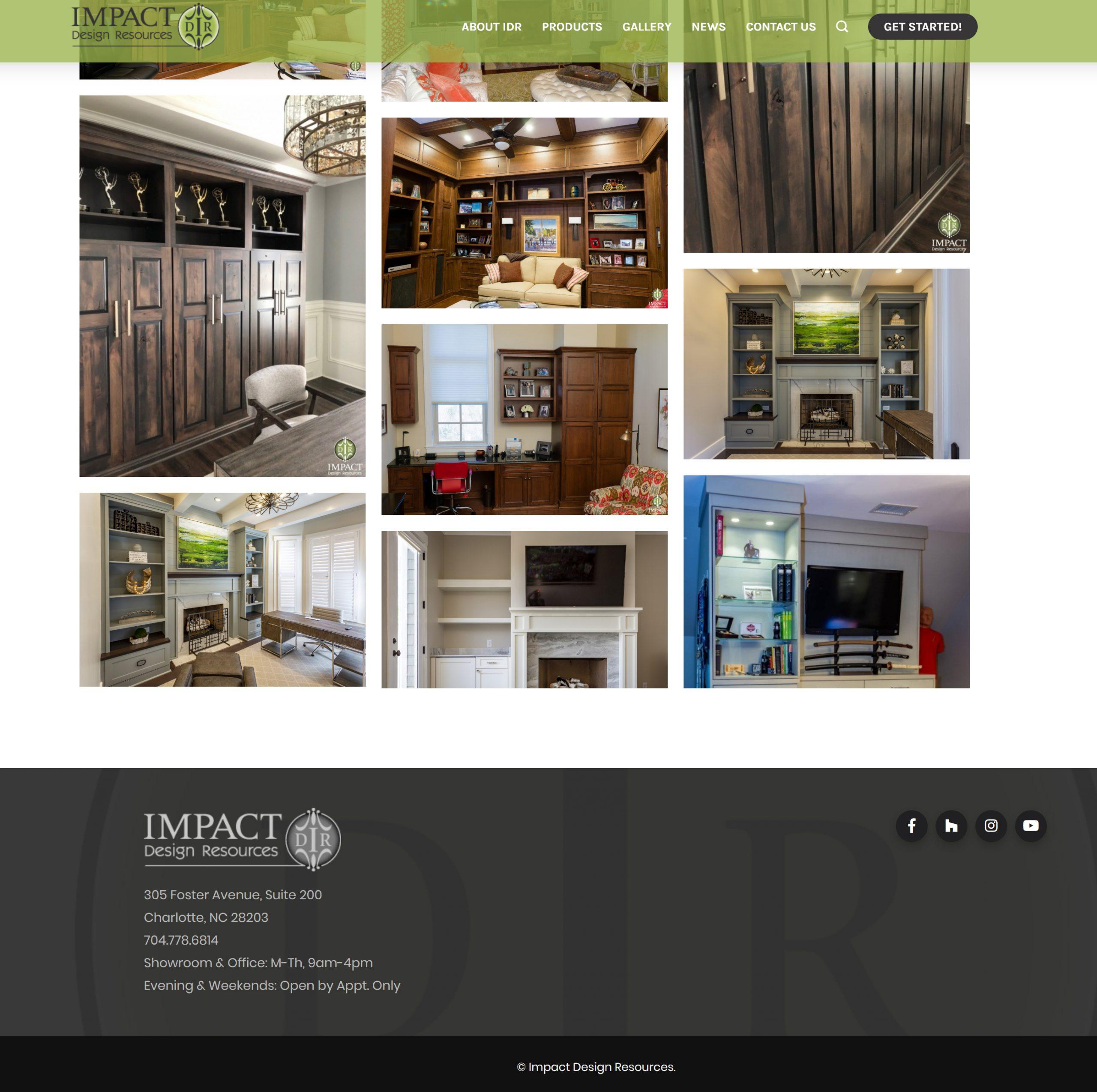 Impact Design Resources Website