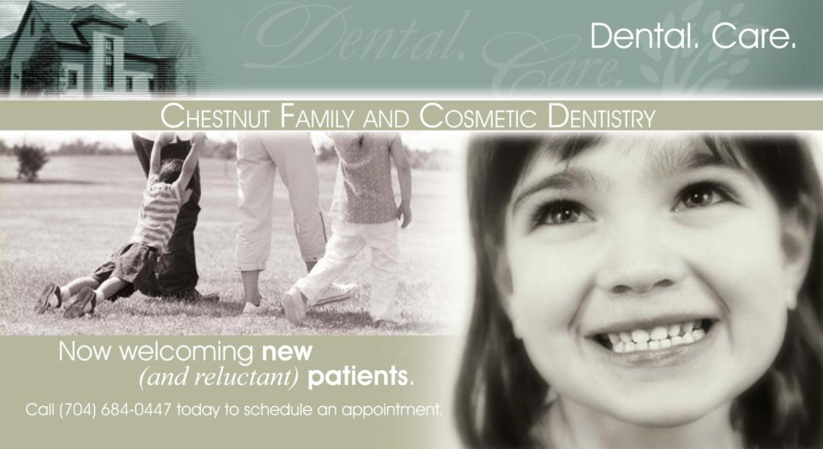 Chestnut Dentistry Direct Mail
