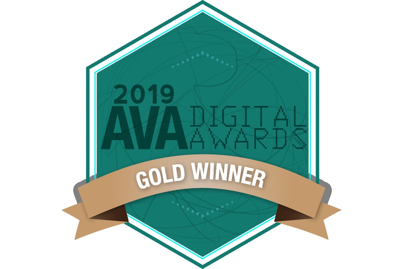 AVA Digital Awards 2019 Gold