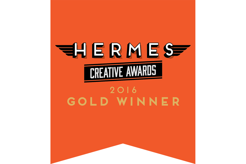 Hermes Creative Awards 2016 Gold