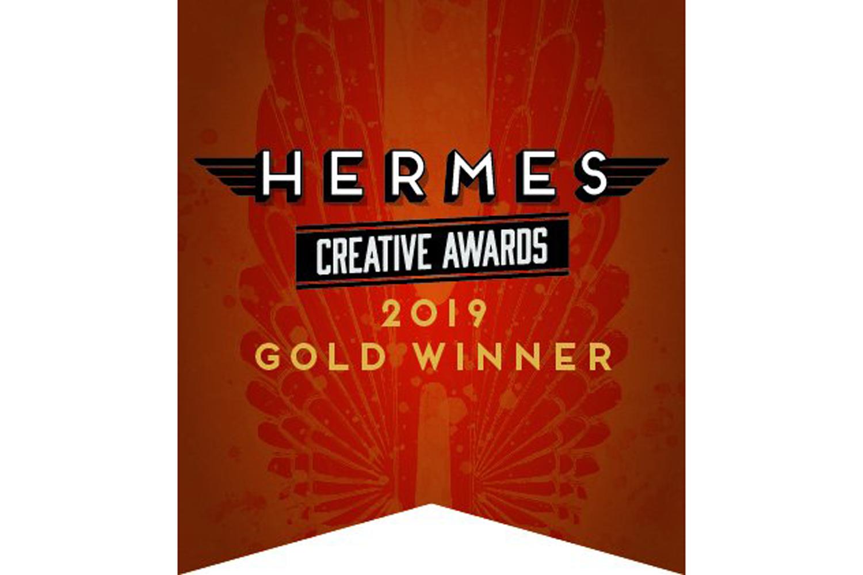 Hermes Creative Awards 2019 Gold