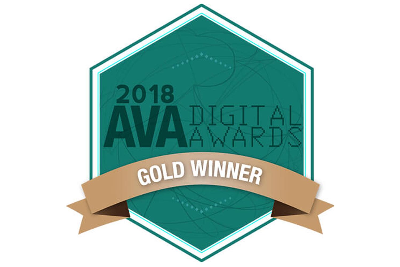 Ava Digital Awards 2018 Gold