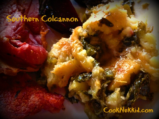 Southern Colcannon with NC Sweet Potatoes