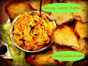 Honey Carrot Butter