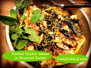 Herbed Chicken in Browned Butter Chicken