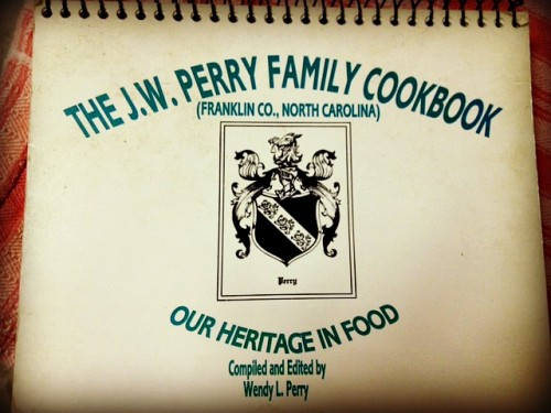 The J.W. Perry Family Cookbook