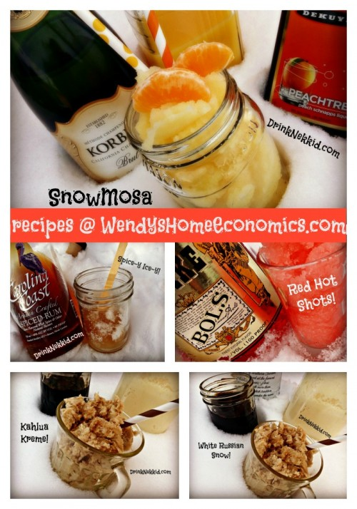 Snow Cocktails!