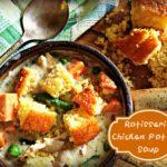Rotisserie Chicken Pot Pie & Soup