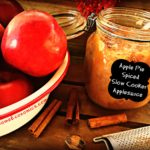 Apple Pie Spiced Slow Cooker Applesauce