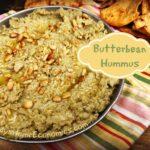 Creamy butterbean hummus