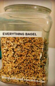 Everything Bagel Seasoning Dust