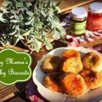 Big Mama's Sticky Biscuits (Peggy Rose's Pepper Jelly)