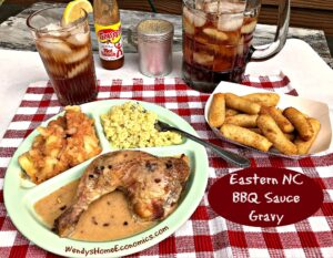 Eastern North Carolina BBQ Sauce Gravy