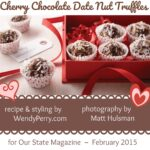 Cherry Chocolate Date Nut Truffles