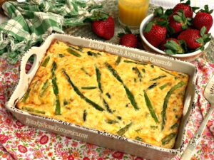 Easter Asparagus Brunch Casserole