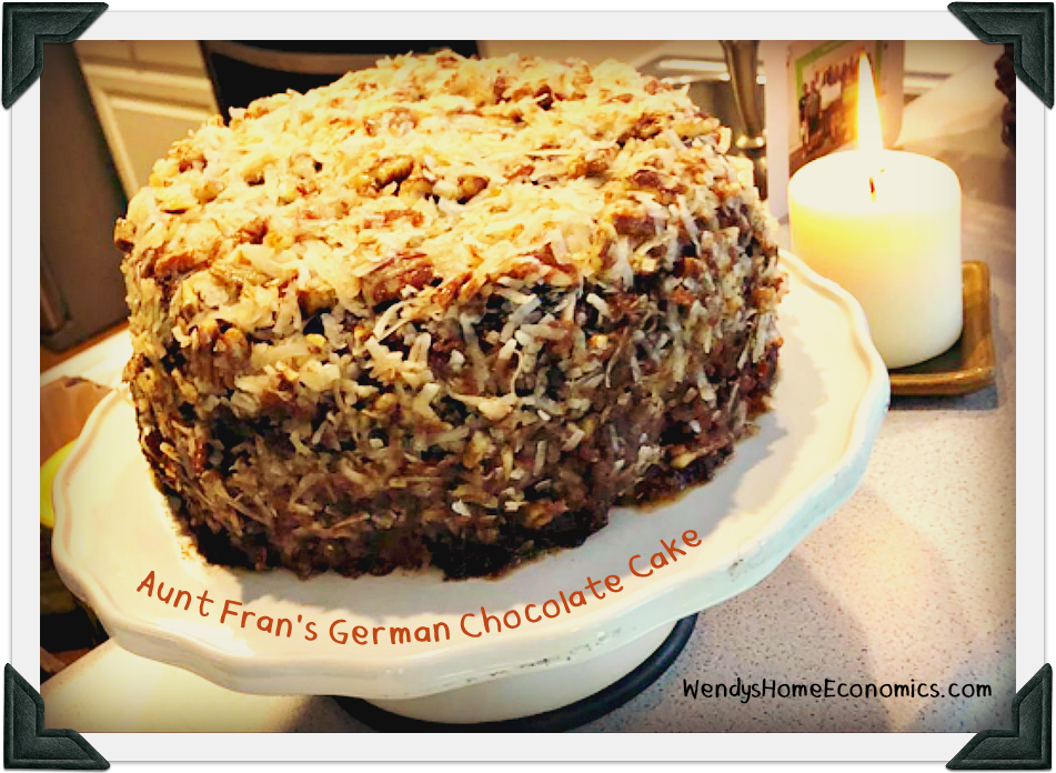 Aunt Fran's German Chocolate Cak