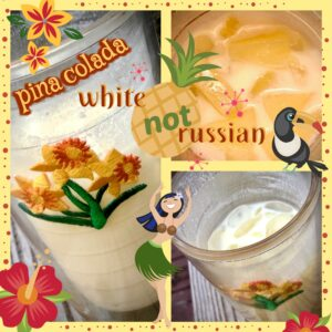 pina colada white not russian