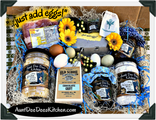 "Aunt Dee Dee's Kitchen ""...just add eggs!"" gift box!"