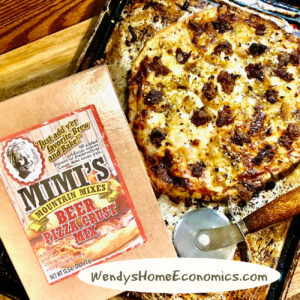 Mimi's Mountain Mix Pizza at Wendy's Home Economics!