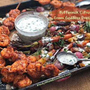 Buttermilk Citrus Green Goddess Dressing