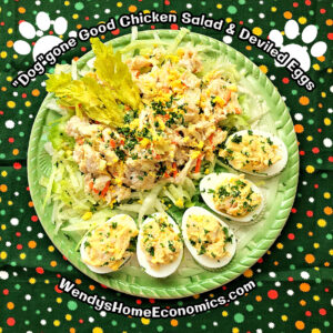 Doggone Good Chicken Salad and Deviled Eggs