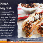Church Hot Dog Chili