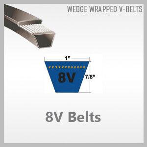 8V Belts