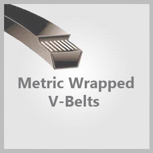 Metric Wrapped V-Belts