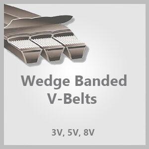 Wedge Banded V-Belts