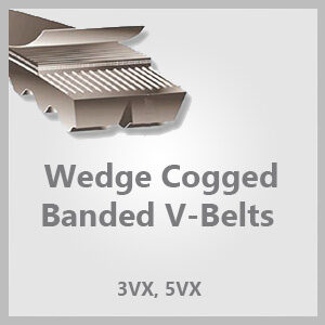 Wedge Cogged Banded V-Belts