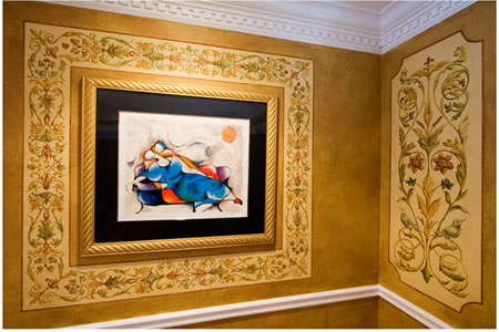 Murals and Faux Tile