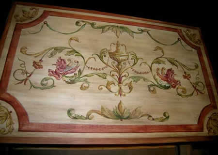 Custom Molding and Handpainted Furniture