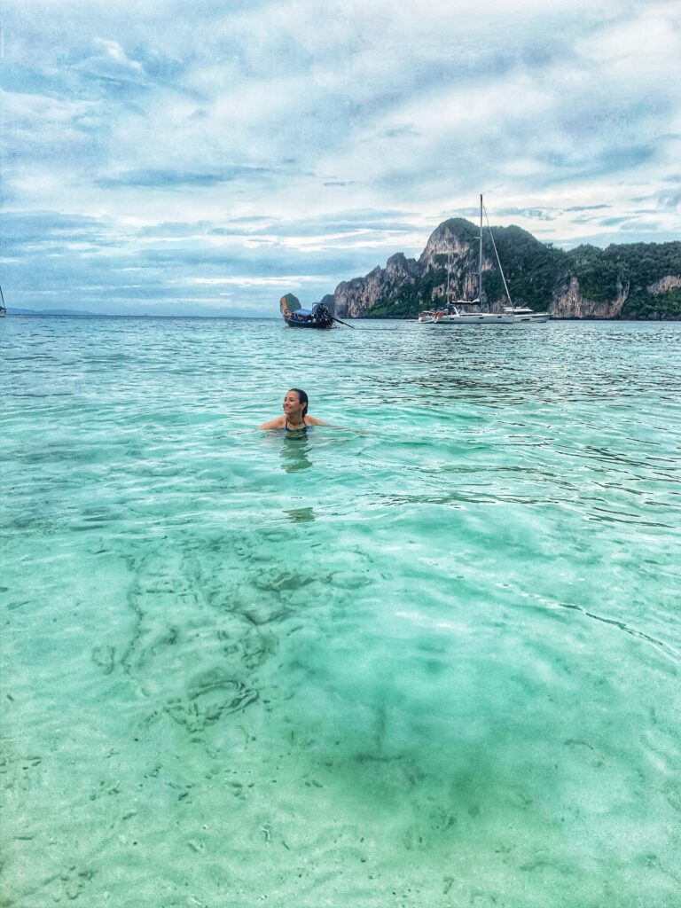 En algún lugar de las islas Phi Phi