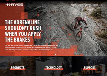 Disrupt | Hayes Brake website